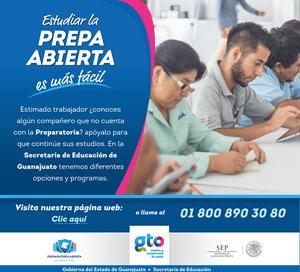 preparatoria abierta Guanajuato